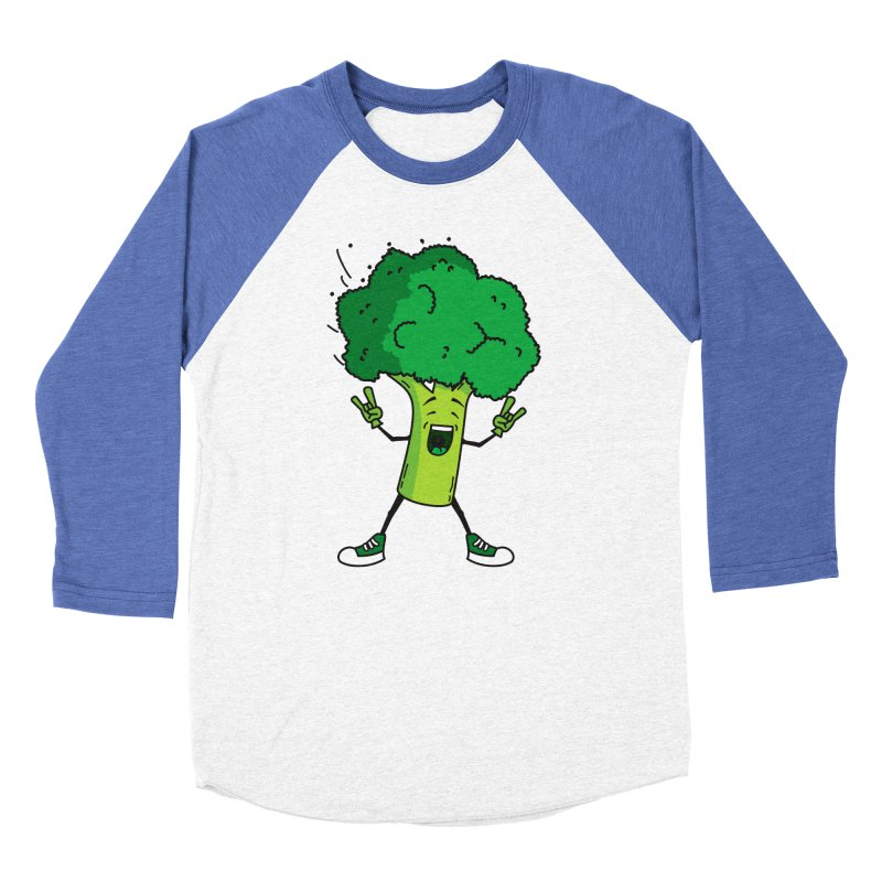 Broccoli rocks! Men's Baseball Triblend T-Shirt by shiningstar's Artist Shop