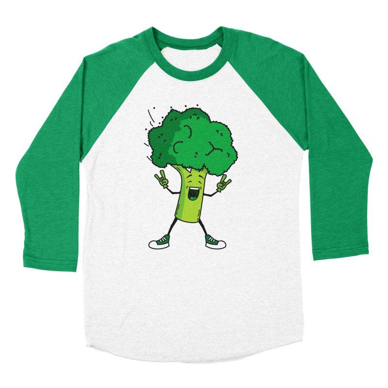 Broccoli rocks! Men's Baseball Triblend T-Shirt by shiningstar's Artist Shop