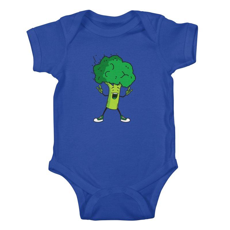 Broccoli rocks! Kids Baby Bodysuit by shiningstar's Artist Shop