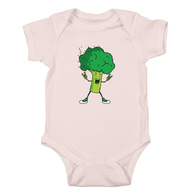 Broccoli rocks! Kids Baby Bodysuit by shiningstar's Artist Shop