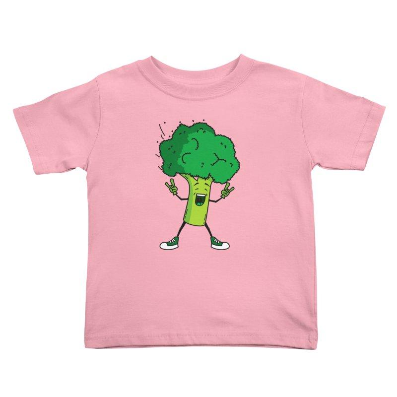 Broccoli rocks! Kids Toddler T-Shirt by shiningstar's Artist Shop