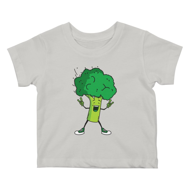 Broccoli rocks! Kids Baby T-Shirt by shiningstar's Artist Shop