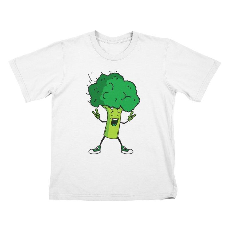 Broccoli rocks! Kids T-shirt by shiningstar's Artist Shop