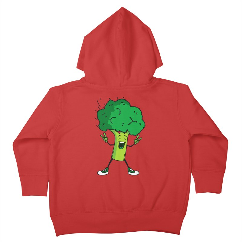 Broccoli rocks! Kids Toddler Zip-Up Hoody by shiningstar's Artist Shop