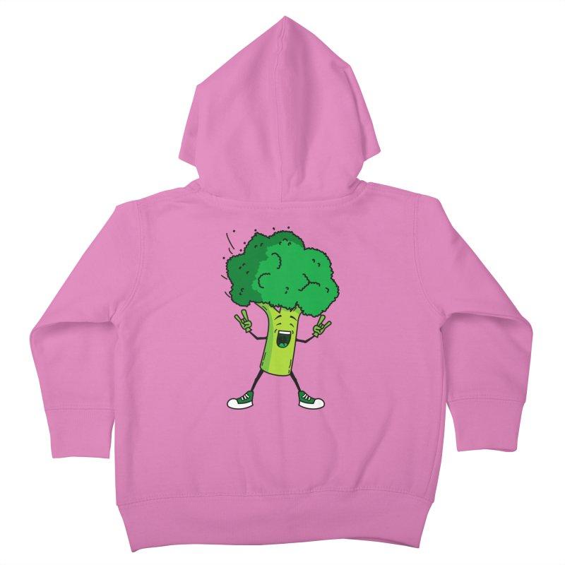 Broccoli rocks! Kids Toddler Zip-Up Hoody by shiningstar's Artist Shop