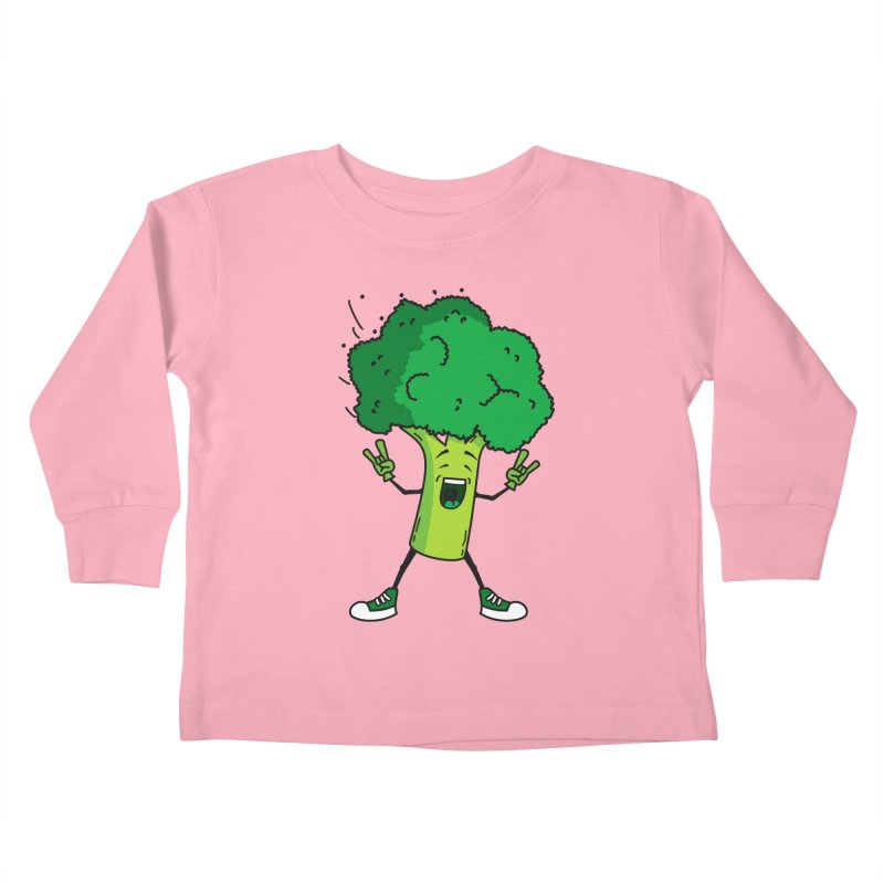 Broccoli rocks! Kids Toddler Longsleeve T-Shirt by shiningstar's Artist Shop