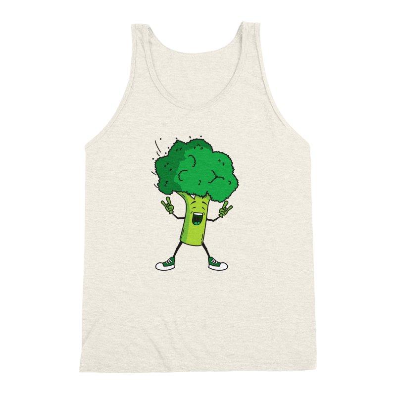 Broccoli rocks! Men's Triblend Tank by shiningstar's Artist Shop