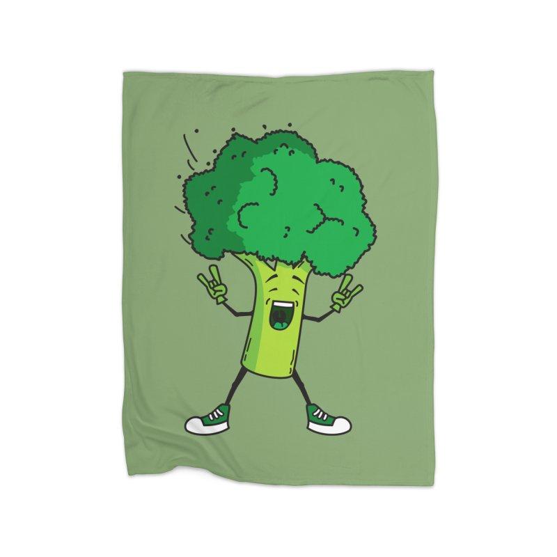 Broccoli rocks! Home Blanket by shiningstar's Artist Shop