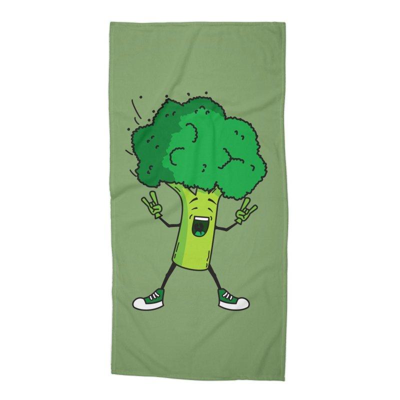Broccoli rocks! Accessories Beach Towel by shiningstar's Artist Shop