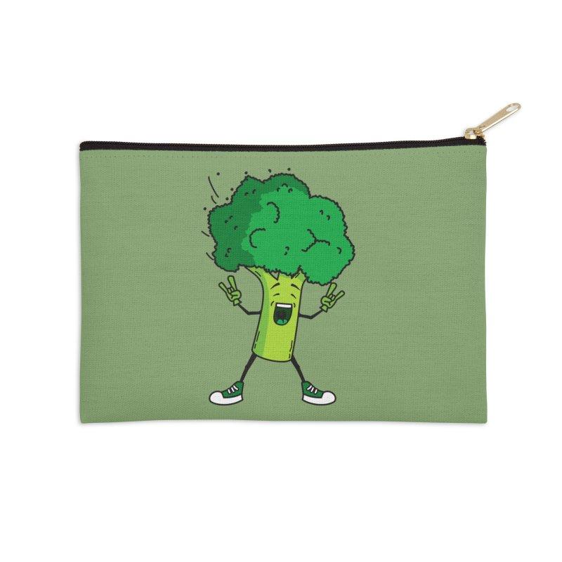 Broccoli rocks! Accessories Zip Pouch by shiningstar's Artist Shop