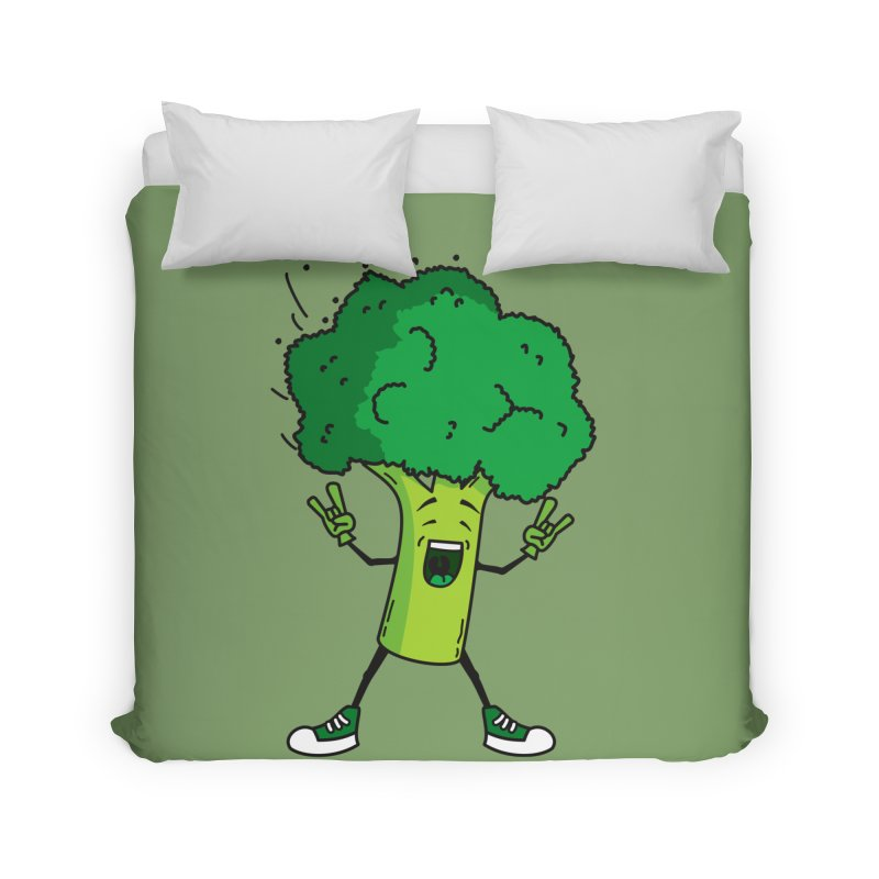 Broccoli rocks! Home Duvet by shiningstar's Artist Shop
