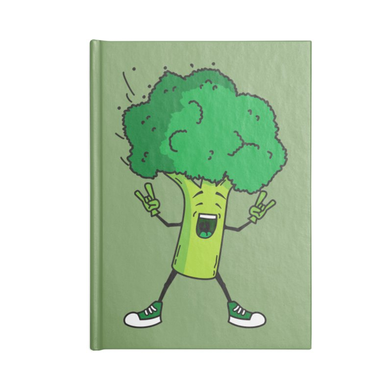Broccoli rocks! Accessories Notebook by shiningstar's Artist Shop