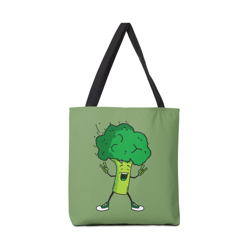 Broccoli rocks! Accessories Bag by shiningstar's Artist Shop