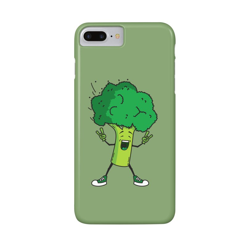 Broccoli rocks! Accessories Phone Case by shiningstar's Artist Shop