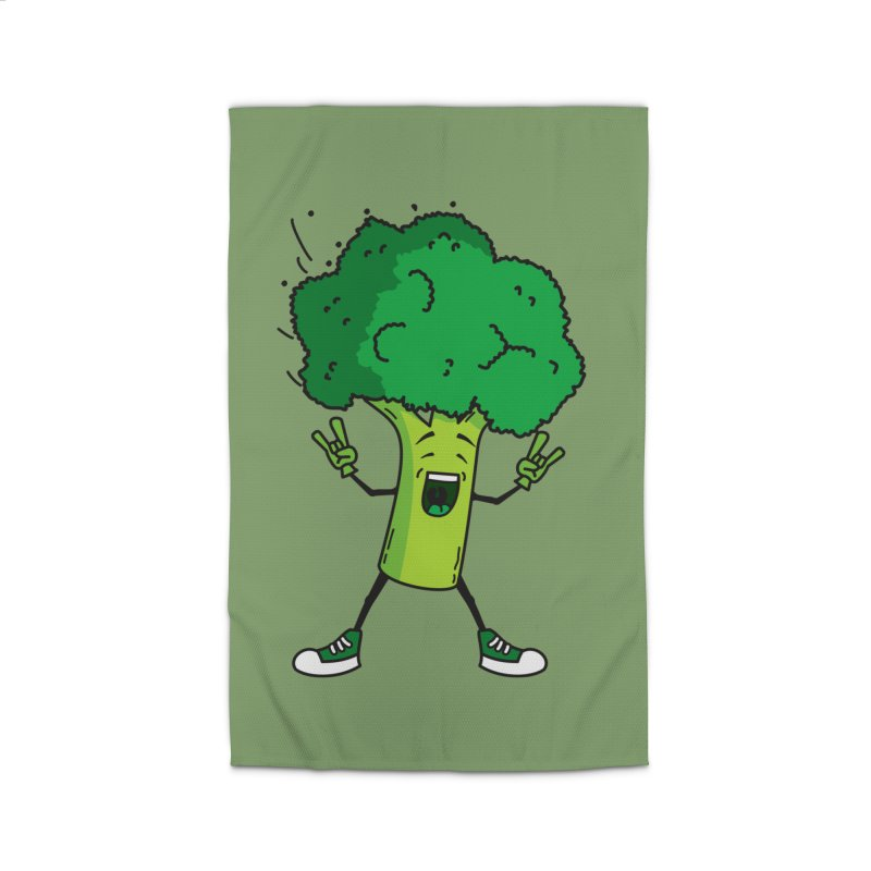Broccoli rocks! Home Rug by shiningstar's Artist Shop