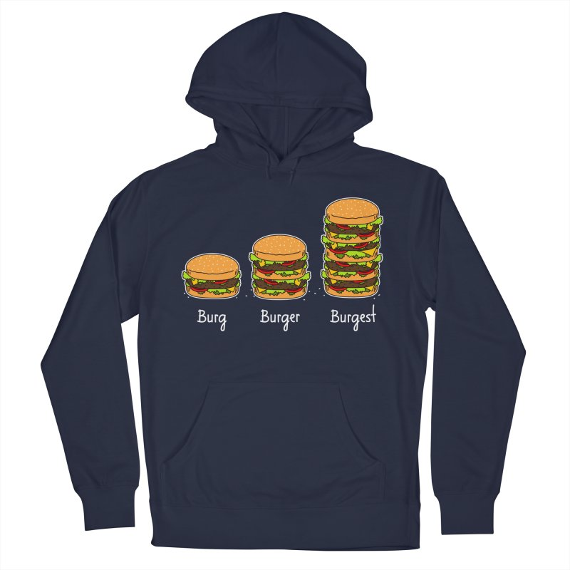 Burger explained. Burg. Burger. Burgest. Men's Pullover Hoody by shiningstar's Artist Shop