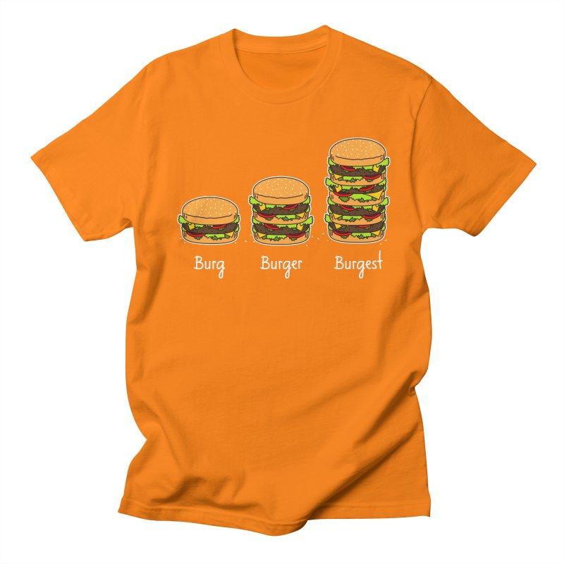 Burger explained. Burg. Burger. Burgest. Men's T-Shirt by shiningstar's Artist Shop