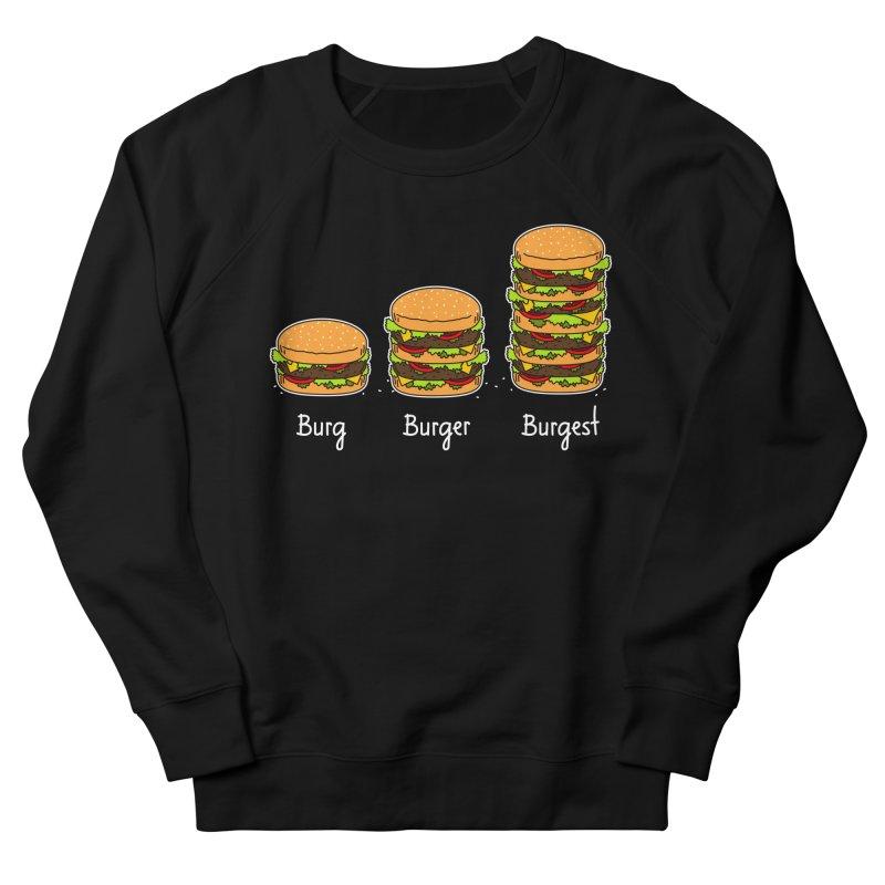 Burger explained. Burg. Burger. Burgest. Women's Sweatshirt by shiningstar's Artist Shop