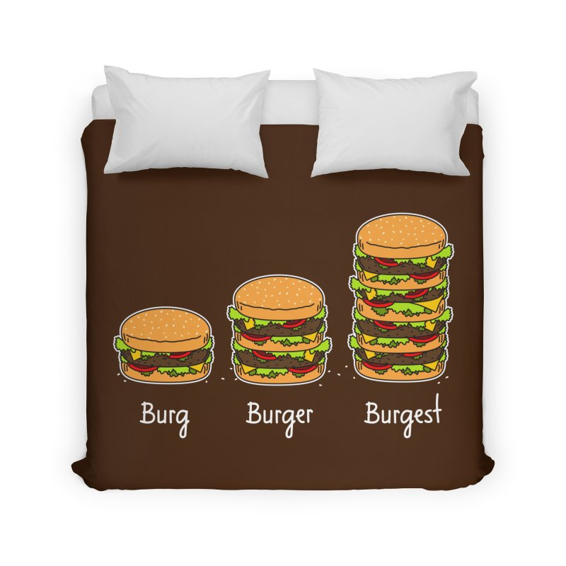 Burger explained. Burg. Burger. Burgest. Home Duvet by shiningstar's Artist Shop