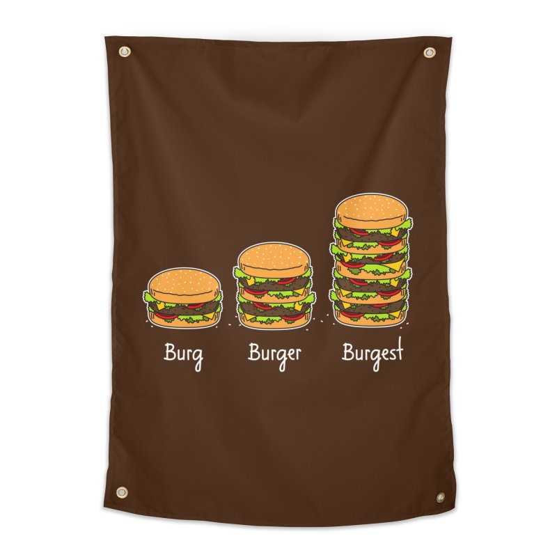 Burger explained. Burg. Burger. Burgest. Home Tapestry by shiningstar's Artist Shop