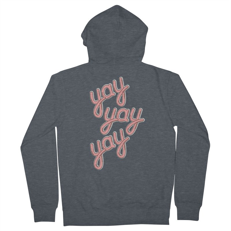 YAY YAY YAY! Men's Zip-Up Hoody by shiningstar's Artist Shop