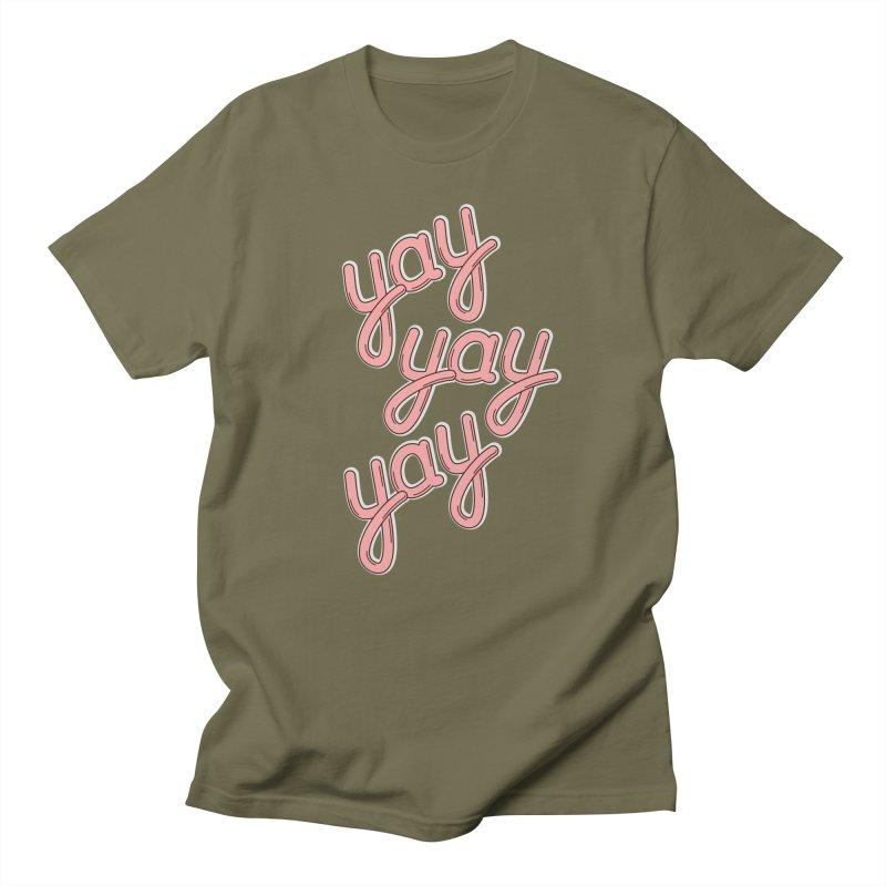 YAY YAY YAY! Men's T-shirt by shiningstar's Artist Shop