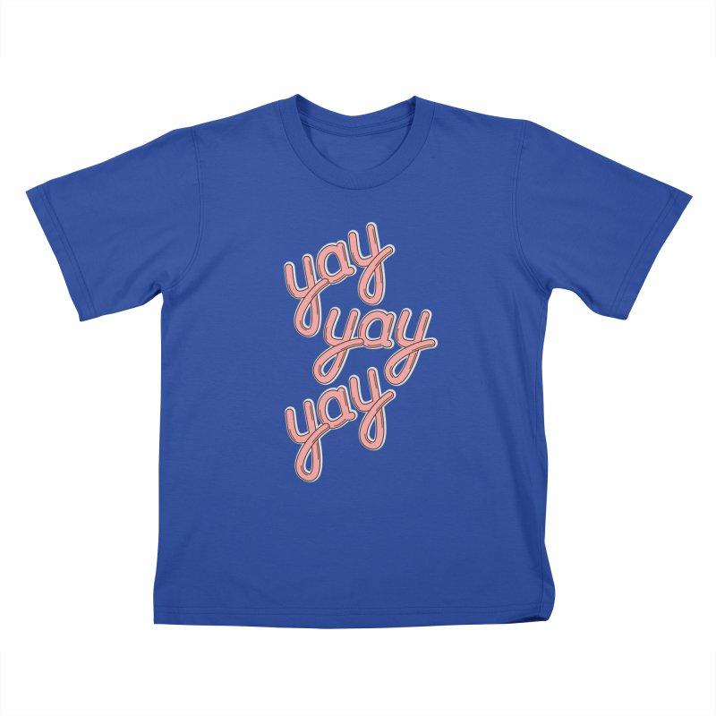 YAY YAY YAY! Kids T-Shirt by shiningstar's Artist Shop