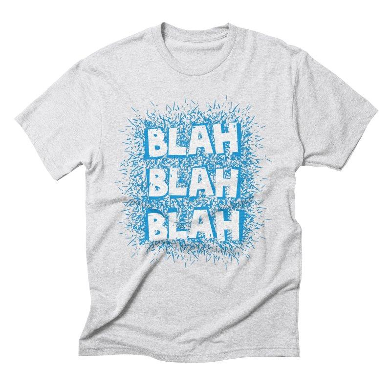 Blah blah blah Men's Triblend T-shirt by shiningstar's Artist Shop
