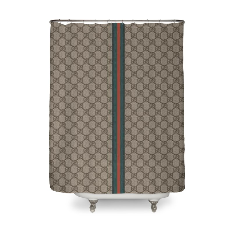 Shinkazen Gucci Pattern Home Shower Curtain
