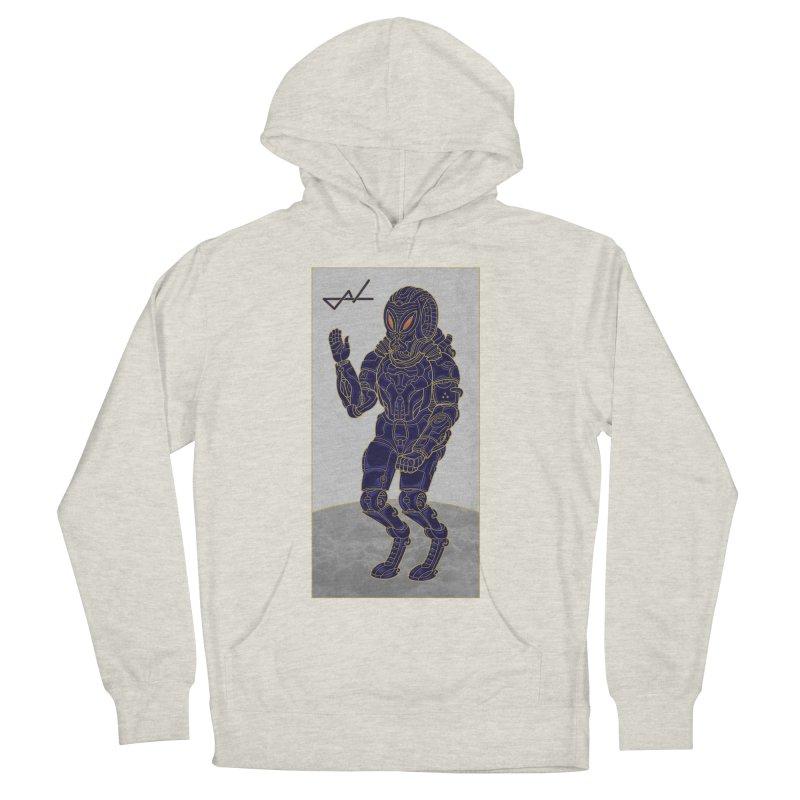 Alien Astronaut Women's Pullover Hoody by shinobiskater's Artist Shop