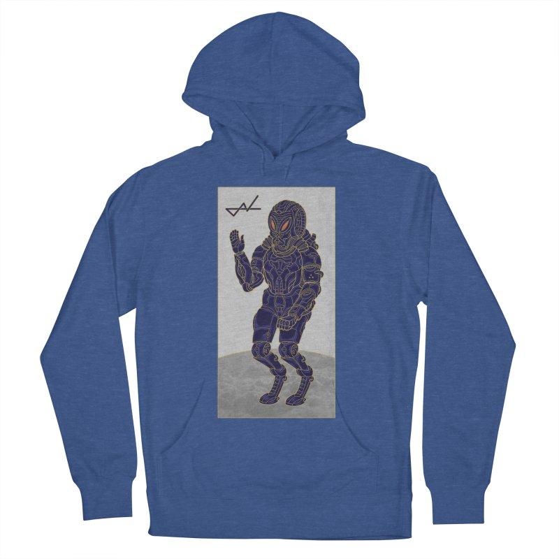 Alien Astronaut Men's Pullover Hoody by shinobiskater's Artist Shop