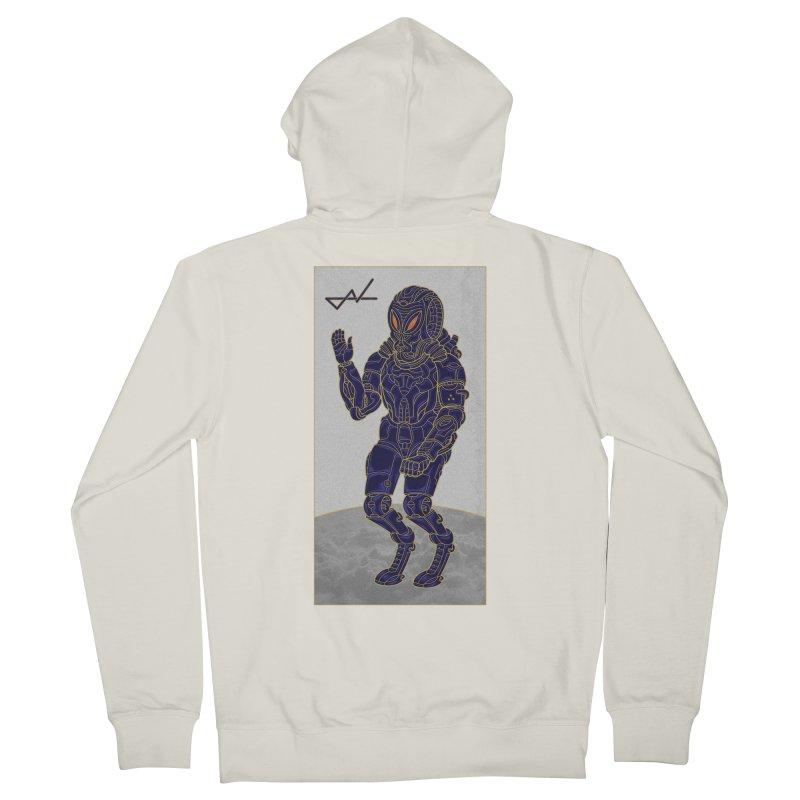 Alien Astronaut Women's Zip-Up Hoody by shinobiskater's Artist Shop