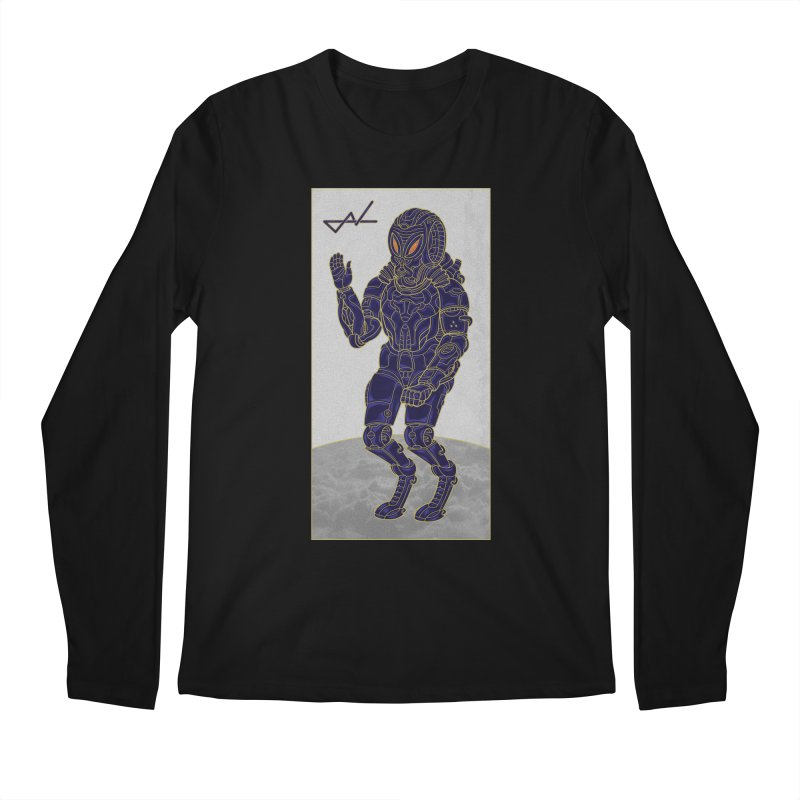 Alien Astronaut Men's Longsleeve T-Shirt by shinobiskater's Artist Shop