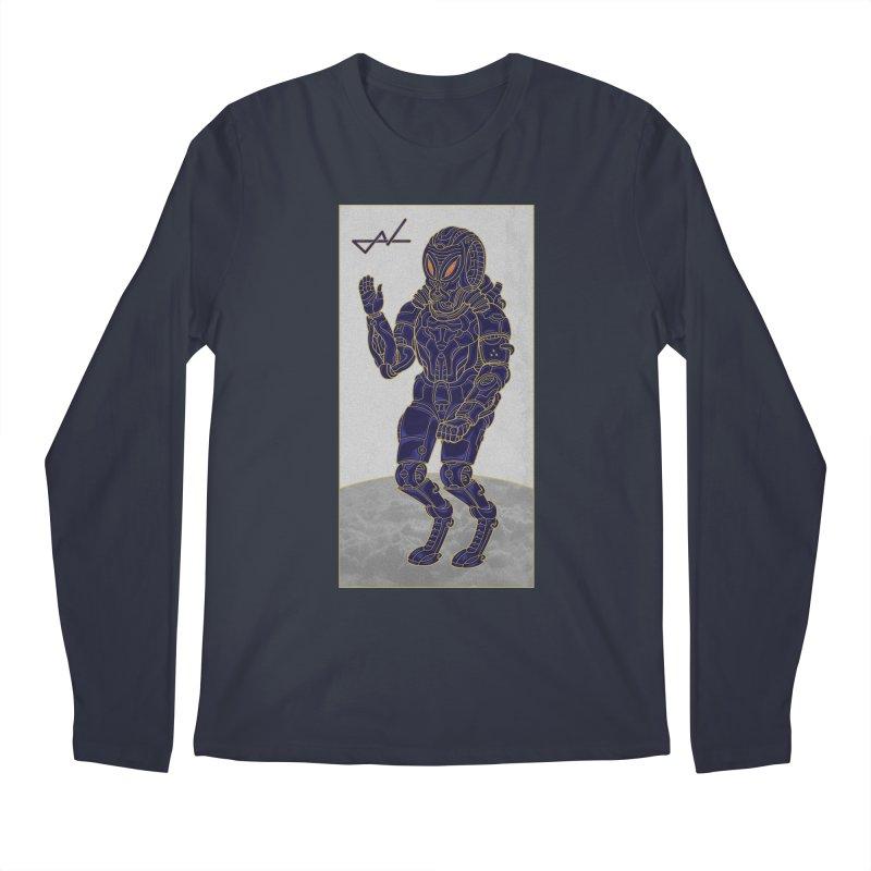Alien Astronaut Men's Longsleeve T-Shirt by shinobiskater's Artist Shop