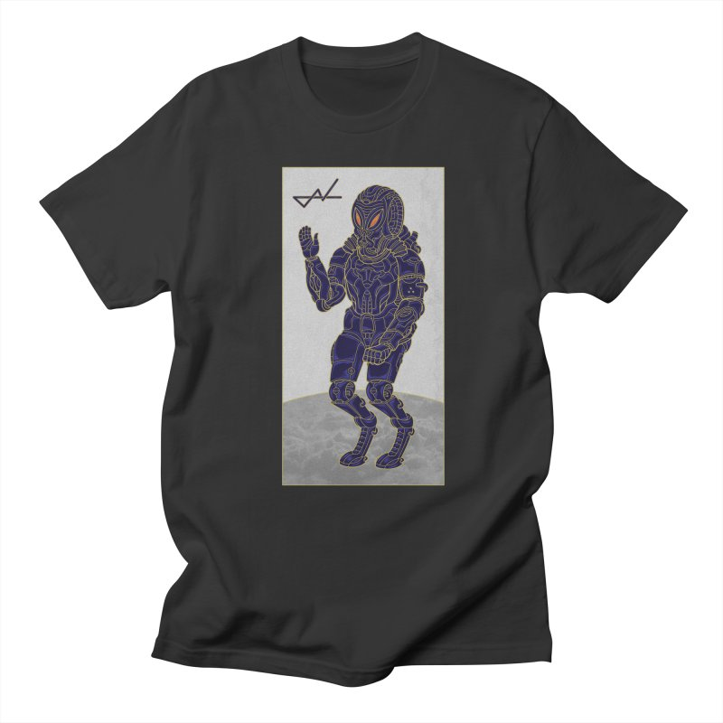 Alien Astronaut Men's T-Shirt by shinobiskater's Artist Shop