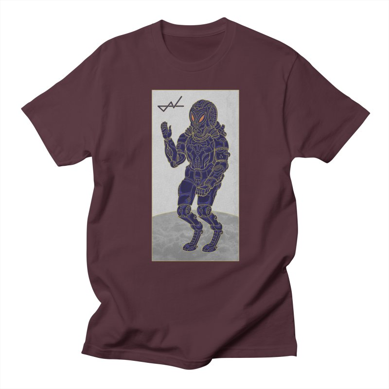 Alien Astronaut Women's Unisex T-Shirt by shinobiskater's Artist Shop
