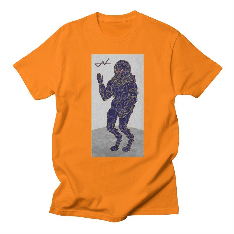 Alien Astronaut Men's T-Shirt by shinobiskater's Artist Shop