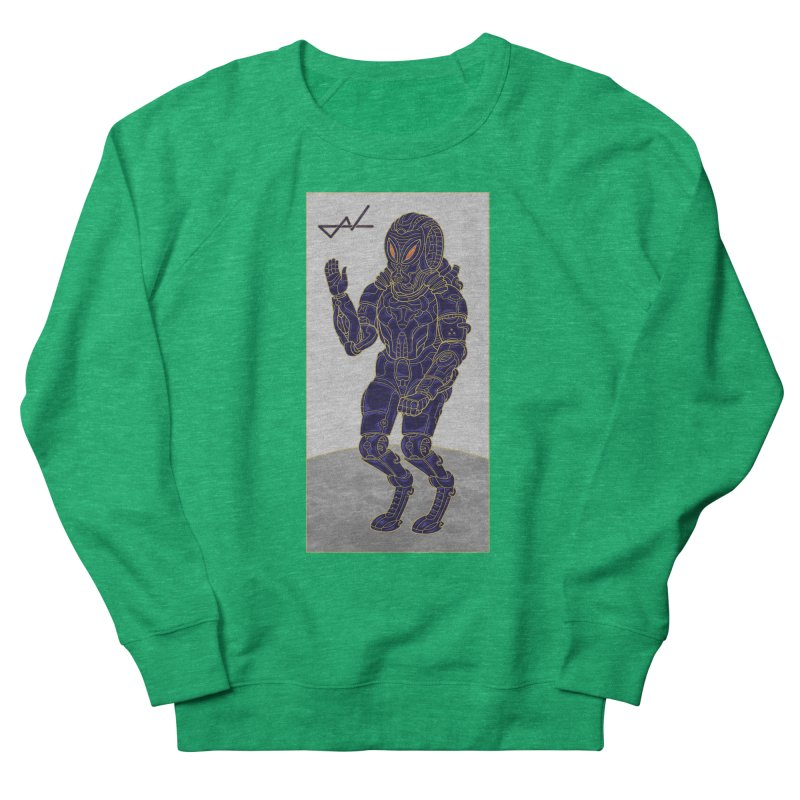 Alien Astronaut Women's Sweatshirt by shinobiskater's Artist Shop