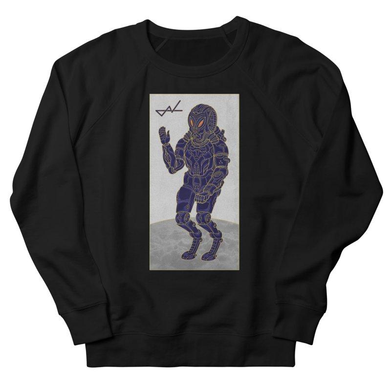 Alien Astronaut Men's Sweatshirt by shinobiskater's Artist Shop