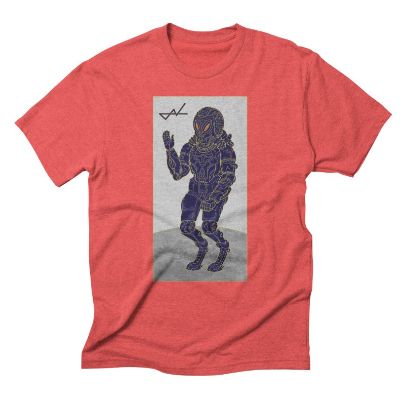 Alien Astronaut Men's Triblend T-Shirt by shinobiskater's Artist Shop