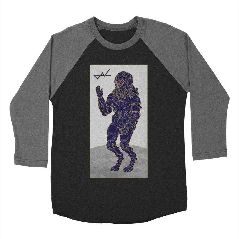 Alien Astronaut Women's Baseball Triblend T-Shirt by shinobiskater's Artist Shop