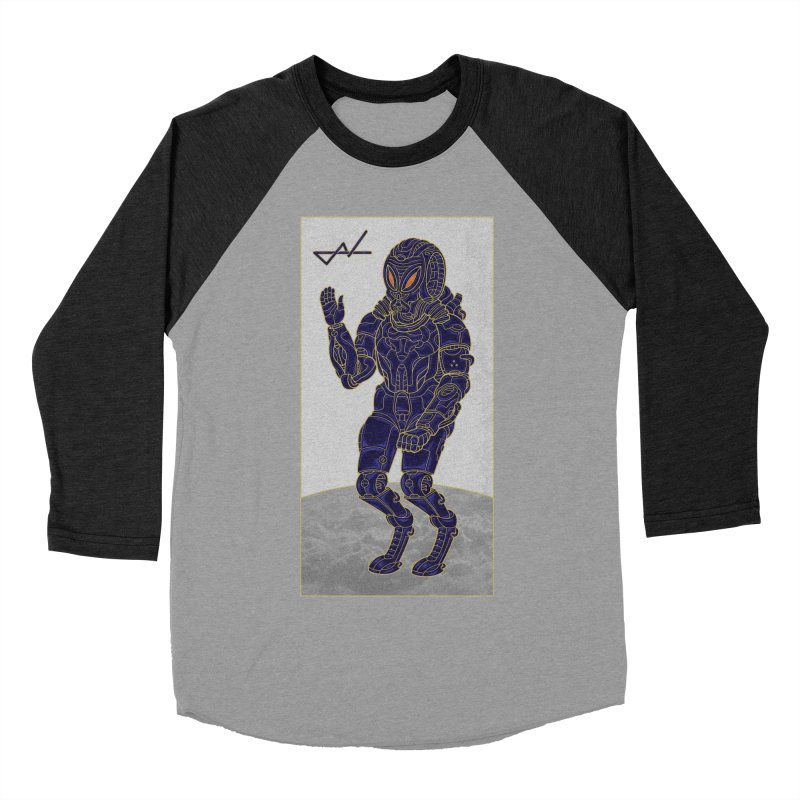 Alien Astronaut Women's Baseball Triblend T-Shirt by shinobiskater's Artist Shop