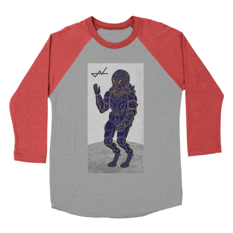 Alien Astronaut Men's Baseball Triblend T-Shirt by shinobiskater's Artist Shop