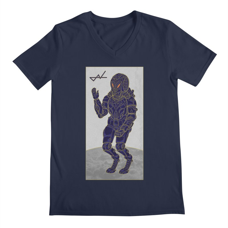 Alien Astronaut Men's V-Neck by shinobiskater's Artist Shop