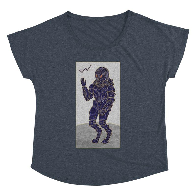 Alien Astronaut Women's Dolman by shinobiskater's Artist Shop