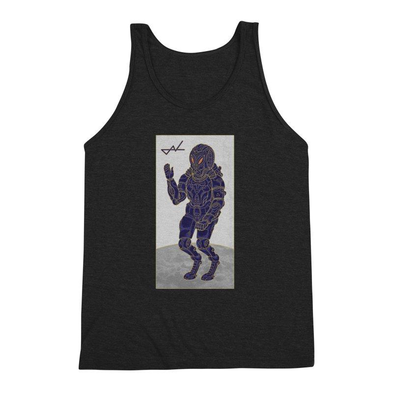Alien Astronaut Men's Triblend Tank by shinobiskater's Artist Shop