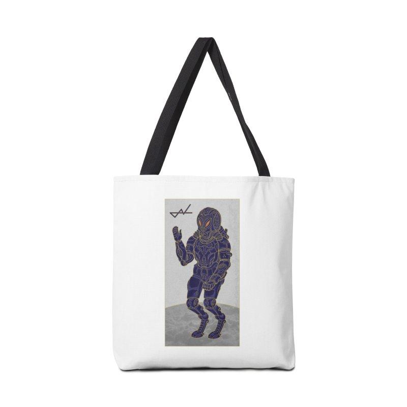 Alien Astronaut Accessories Bag by shinobiskater's Artist Shop