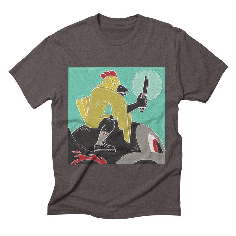 voodoo fetish Men's Triblend T-shirt by shinobiskater's Artist Shop