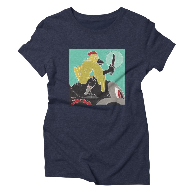 voodoo fetish Women's Triblend T-Shirt by shinobiskater's Artist Shop