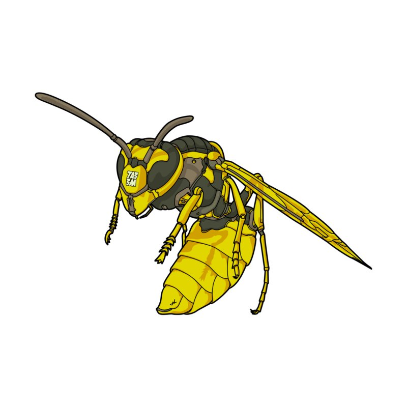 Drone Wasp by shinobiskater's Artist Shop
